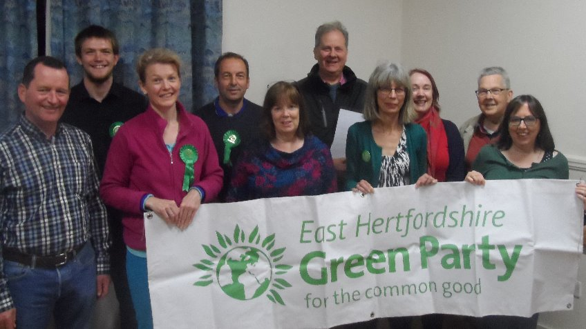 East Herts and Broxbourne Green Parties