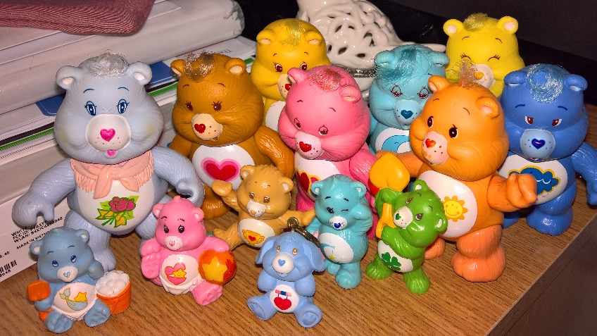 A home for me & my Care Bears