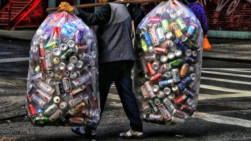 Big f*cking bag of cans with the lads