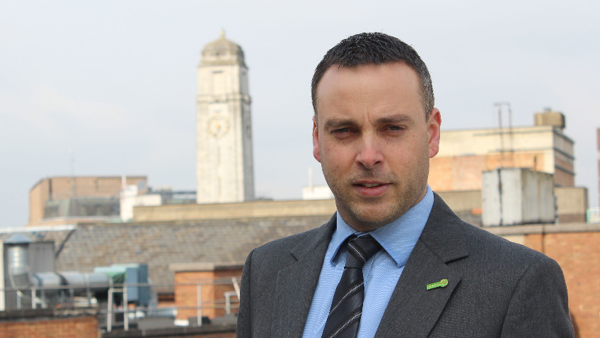 Simon Hall - Luton North Green Party Candidate