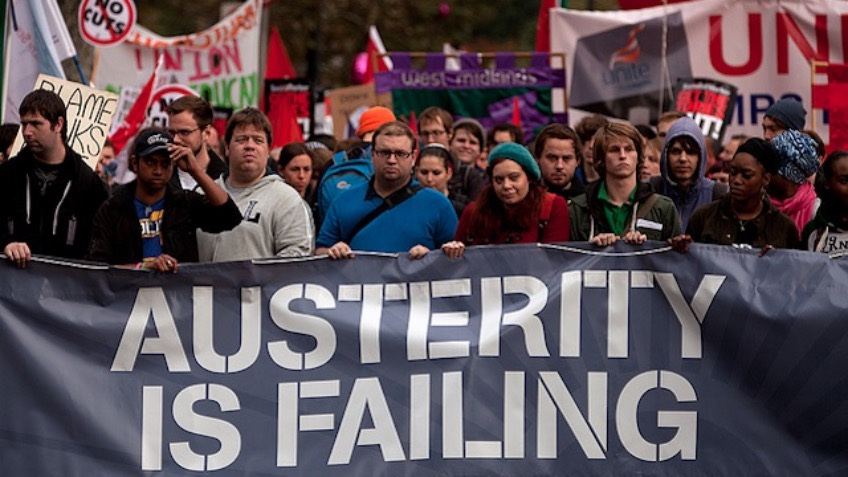 Get Cornwall to the 20/06/15 austerity March