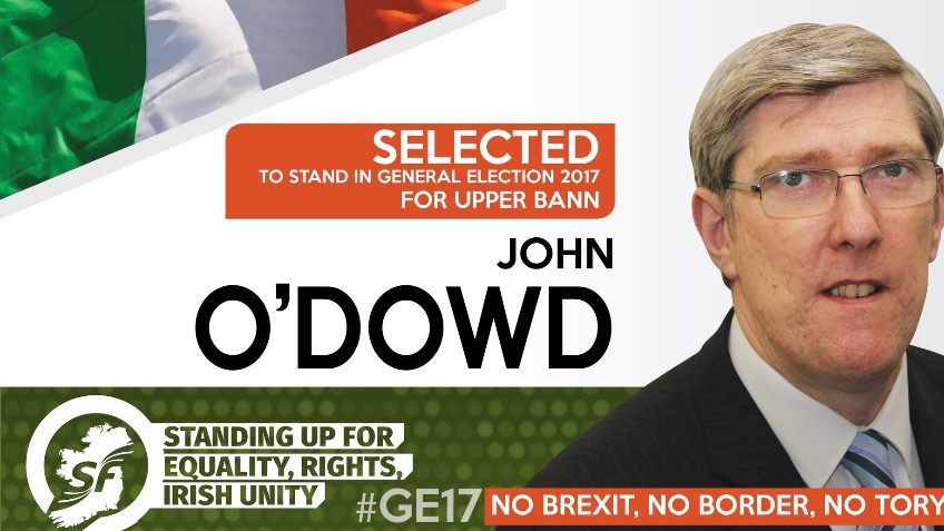John O'Dowd for MP #GE17