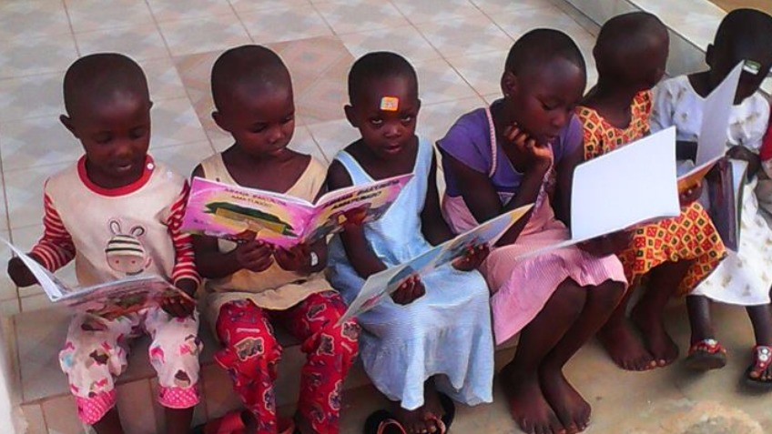 Community library for children in Rwanda-Africa