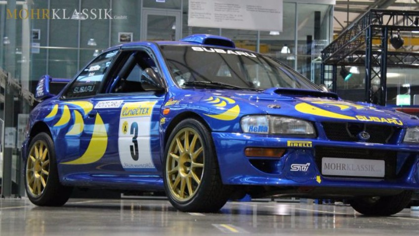 Bring Mcrae's winning Subaru back to UK!