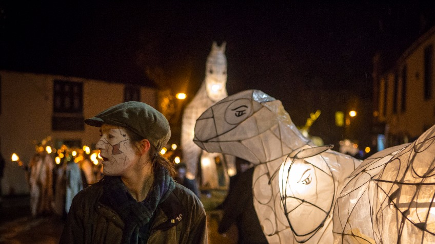 Ullswater Lantern for Winter Droving