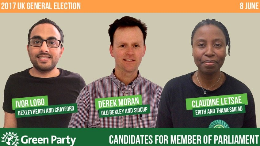 Bexley Green Party: 2017 GE Publicity Fund