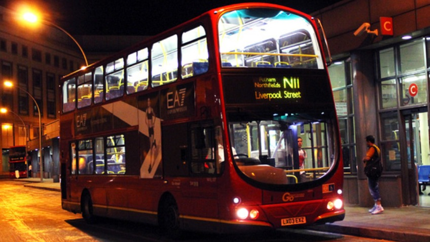 Plymouth Night Bus Project