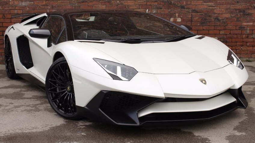 WIN A SUPER CAR (Lamborghini Aventador SV)