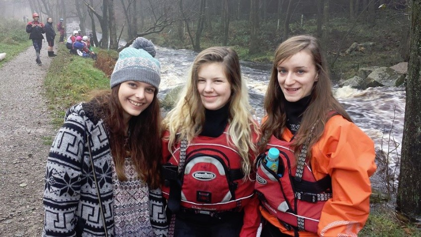 Support Salford University's Women Kayakers
