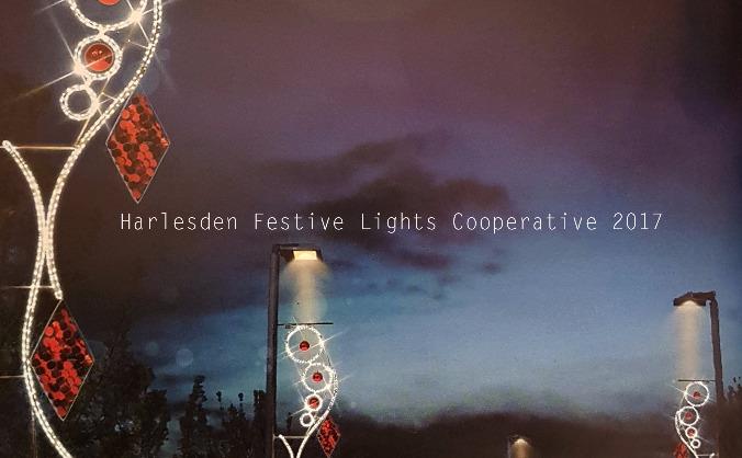 Harlesden  festive illuminations 2017 image