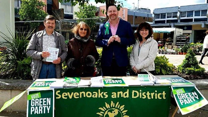 Green Party Campaign for Sevenoaks at the General