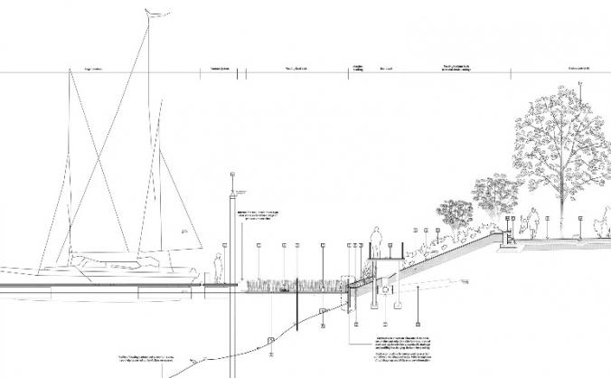 Restore bristol harbourside reed bed image