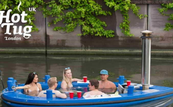 The hottug - london's most unique experience image