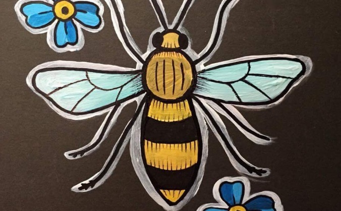 Manchester Attack - Bee print