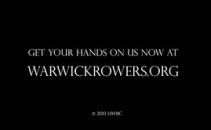 Warwick Rowing 2014 Naked Calendar and Film: World Tour