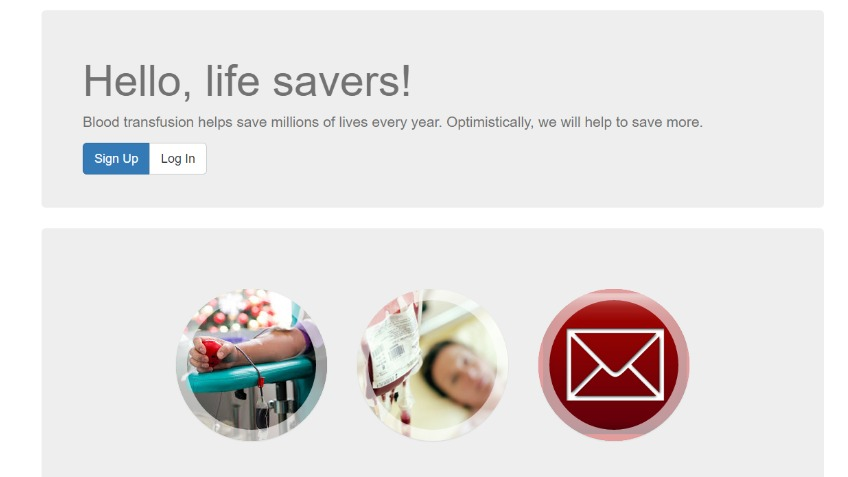Blood Donors Database Web & Mobile Application
