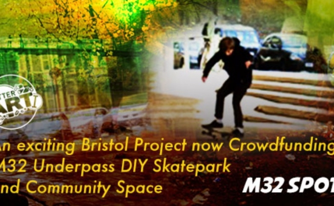 M32 spot - diy skatepark and community space image
