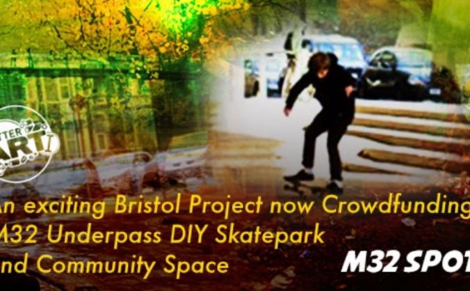 M32 spot - diy skatepark and community space image