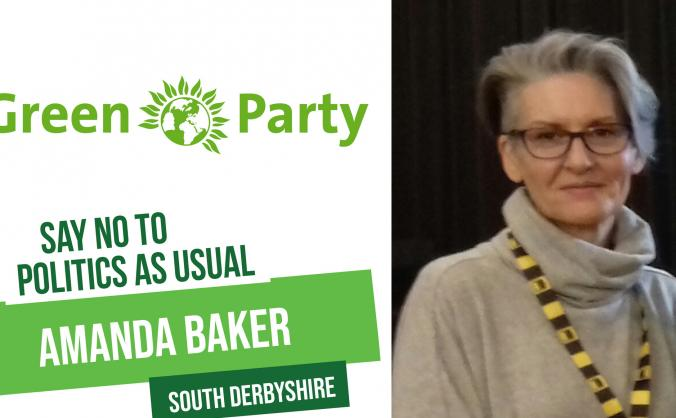 Green party candidate for south derbyshire image