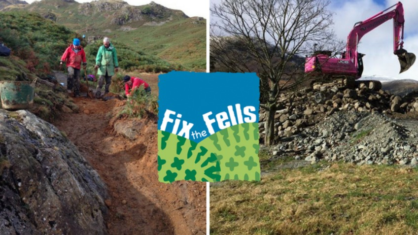 Lakelovers help Fix the Fells