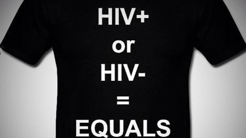 "Equals = Equals ""The HIV Anti-Stigma Campaign"""
