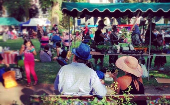 Camden new town community festival image