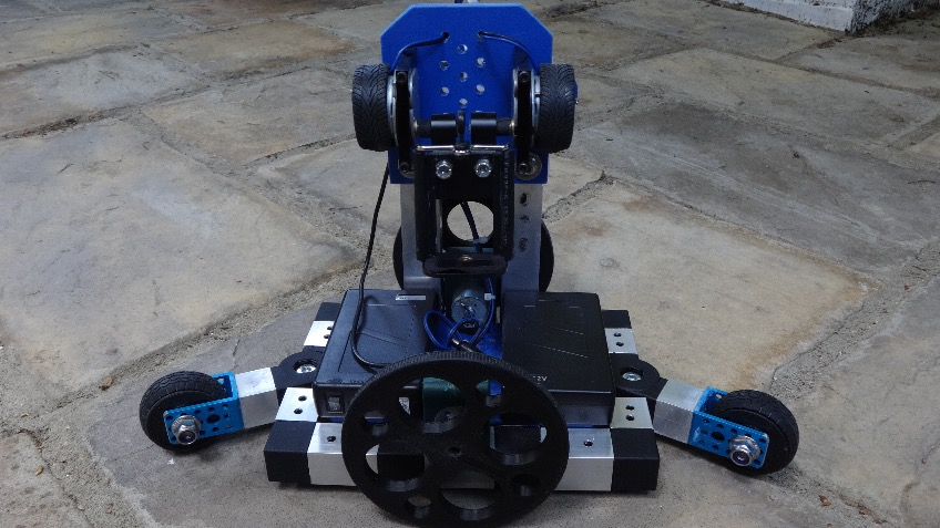 ED.GE wireless controlled motorised dolly
