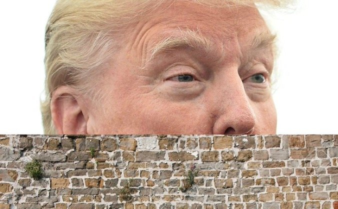 Building a wall to stop Donald Trump