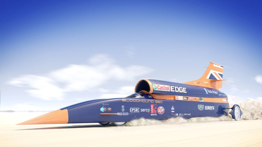 BLOODHOUND - Inspiring a generation at 1,000mph
