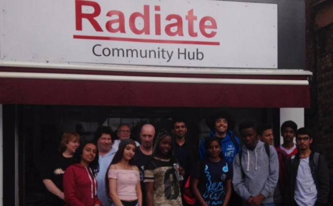 Radiate community cafe image