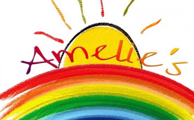 Amelie's rainbow image