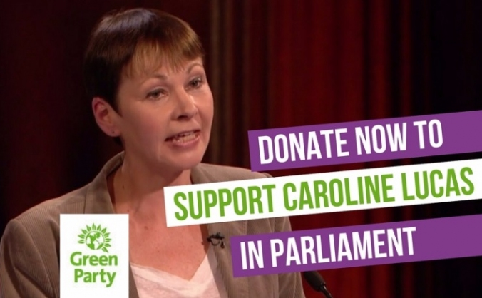 Help support caroline lucas in parliament image