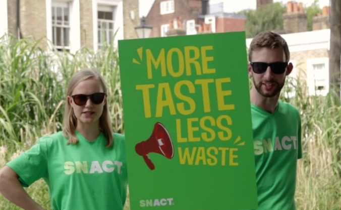 Are you ready for snact's delicious protest? image