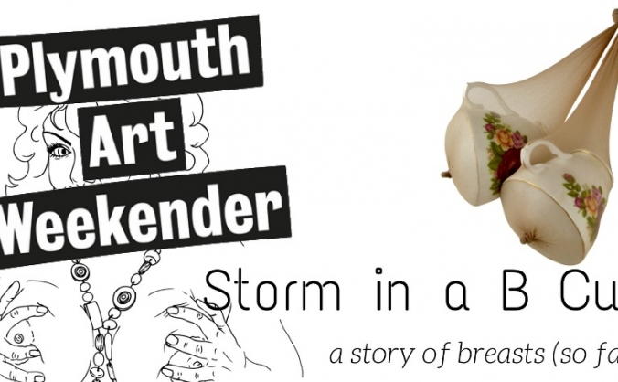 Storm in a b cup - plymouth art weekender image