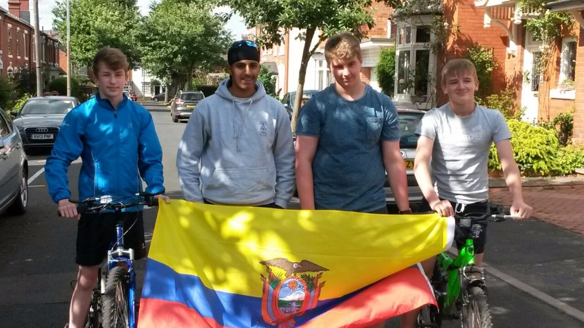 Camp Ecuador Expedition 2016 Bike Ride