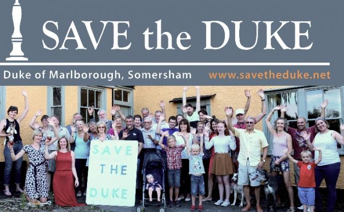 Save the duke community shares image