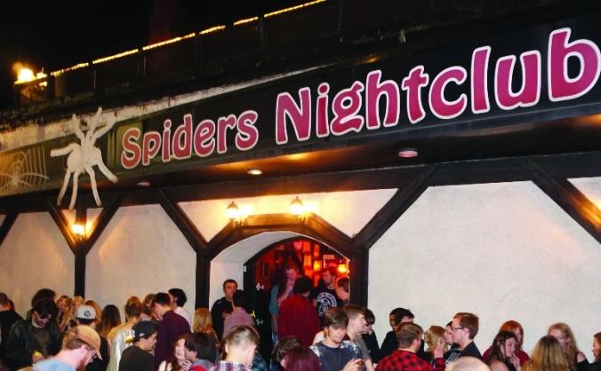 Spiders nightclub book image