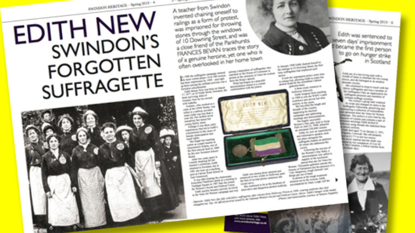 Swindon's Suffragette