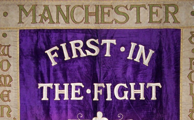 Bring manchester's suffragette banner home image
