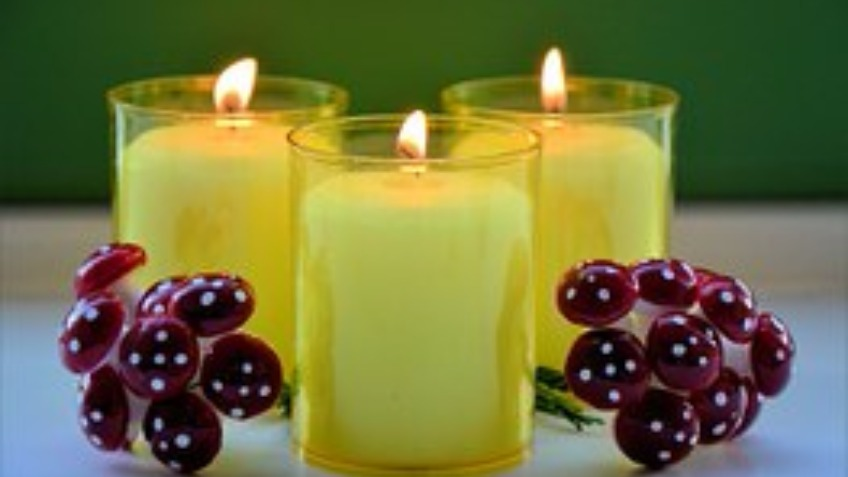 Kilted Candles