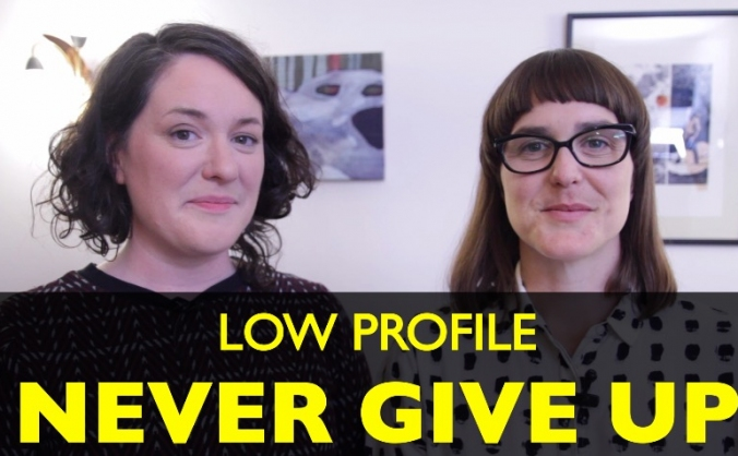 Low profile  - never give up image