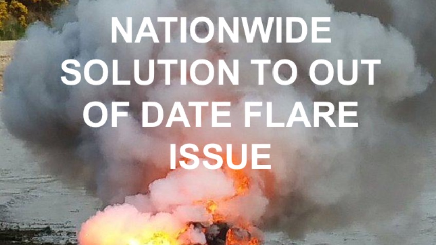 Out of Date Distress Flare Disposal Solutions