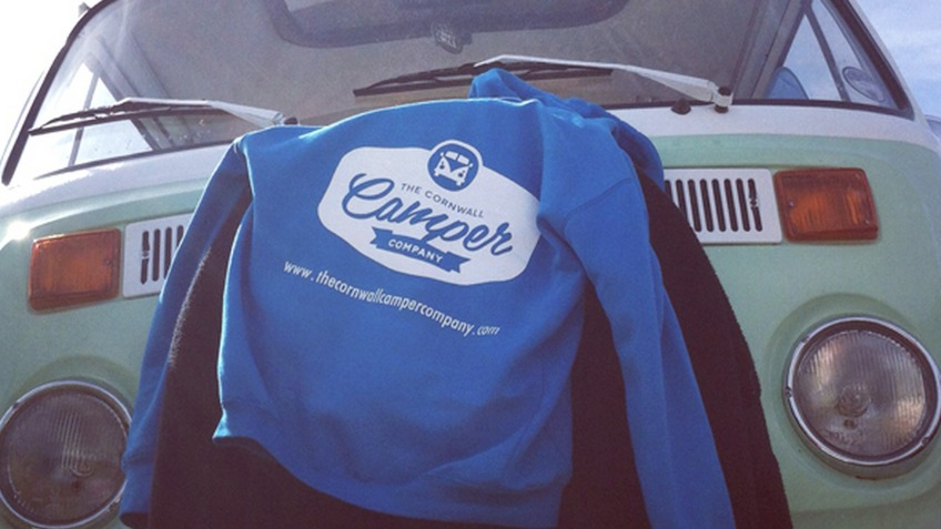 VW Camper Hoodies - The Cornwall Camper Company