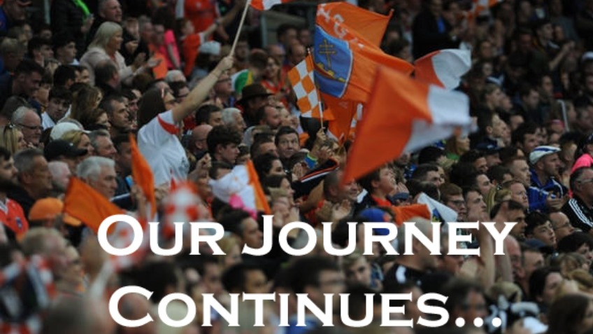 Armagh GAA......the journey continues.....