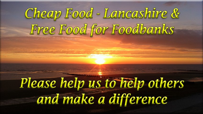Cheap Food Lancashire and Helping Local Foodbanks