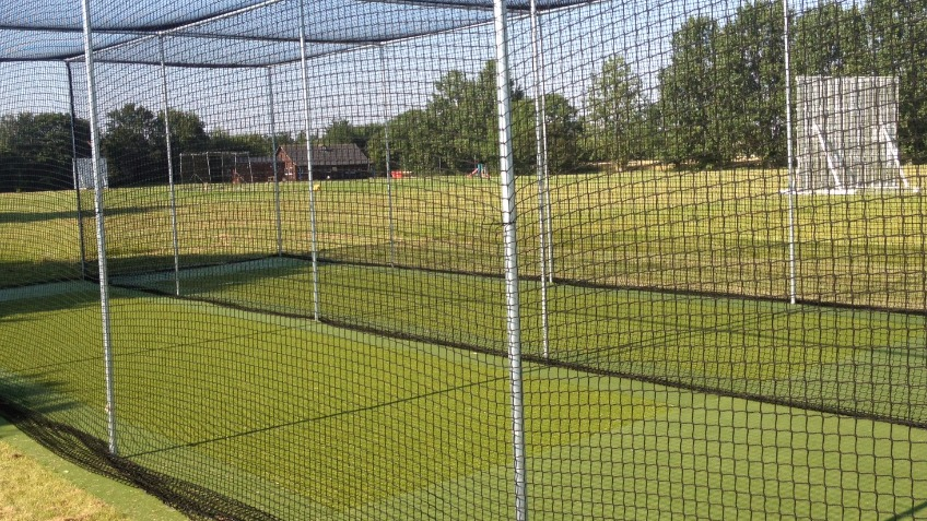 Hazel Grove Cricket Club - All weather nets