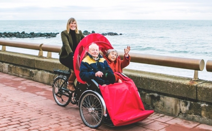 Cycling without age - brighton & hove image