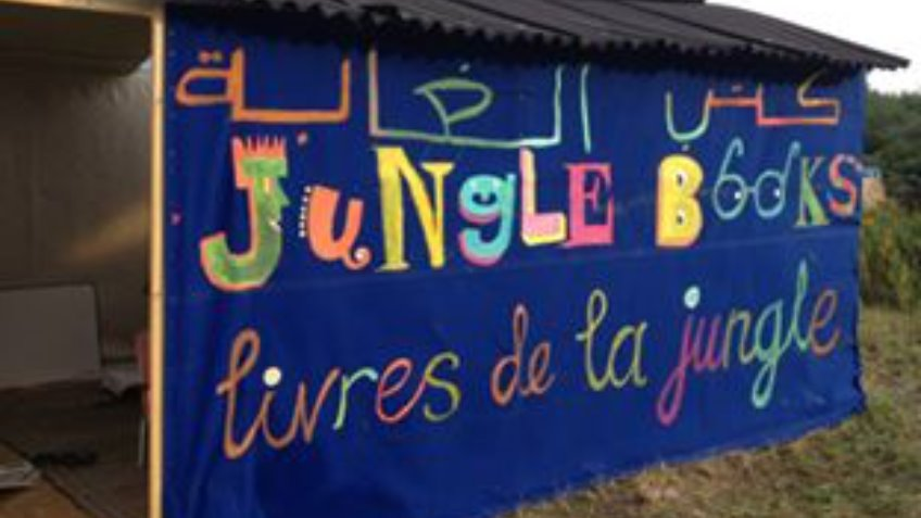 Jungle Books Calais Migrant Library