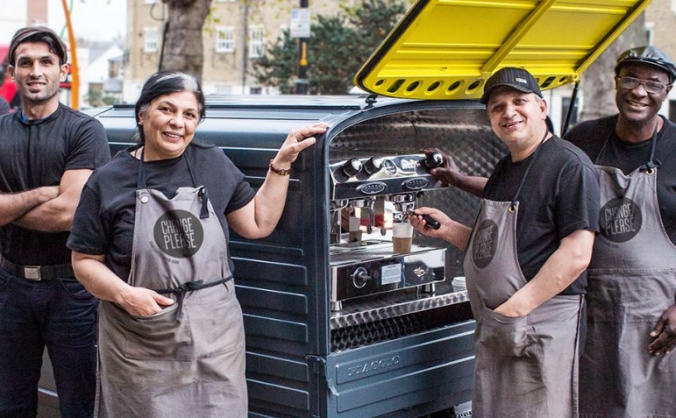 Change please - new cafe! image