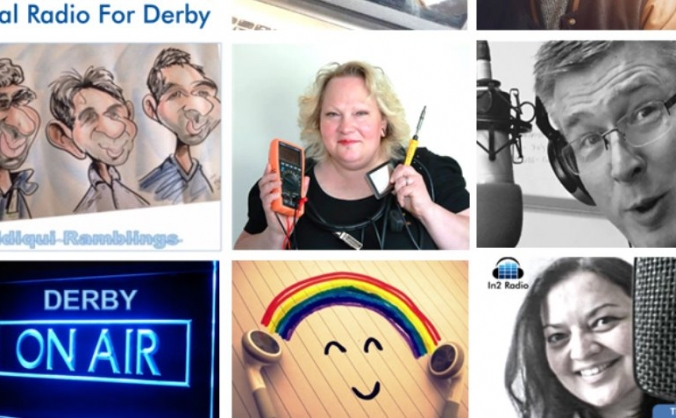 Derby on the airwaves! in2 radio image
